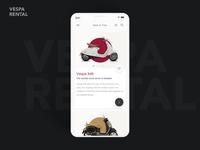 Vespa moped rental