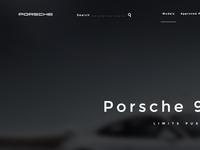 Porsche Concept Re-Design