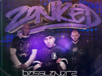 Zonked DNB Event Flyer