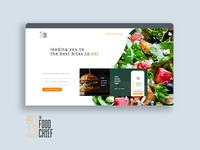 The Food Chief Landing Page