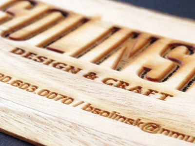 Dribbble wood