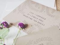 Lazo Wedding Invitations