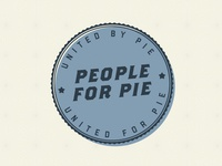 People For Pie Badge
