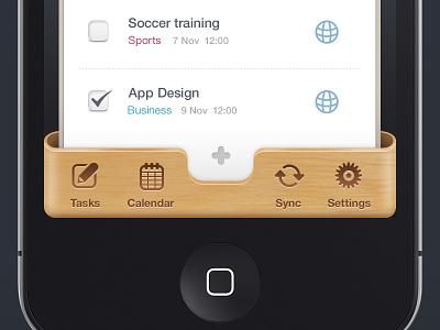 Iphone UI mobile app ui design photoshop icons ios iphone