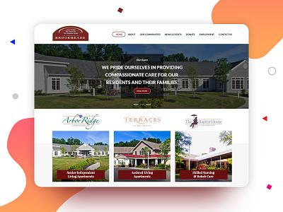 Community Website Re-Design Concept ui design ui layout top design designer best designer design landing page web design community