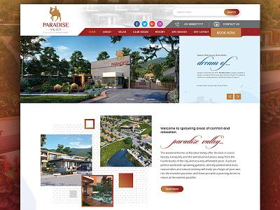 Architecture web design real estate web designer web design nehal malvi club hous creative designer resort villa