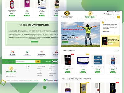 Drug E-Commerce Website product creative web design landing page best design web designer best ecommerce