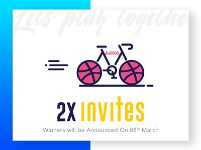 2x Invite 2x banner invite