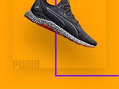 Modern Shoe Store under armour puma nike brands shoes product minimal ux ui concept ios app design iphone 10 color ecommerce app ecommerce