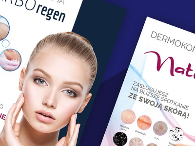 Leaflet A5 for Beauty Of Science design print beauty logo leaflet design beauty