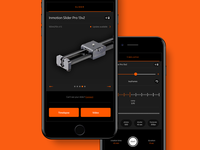 Inmotion Pro iOS app
