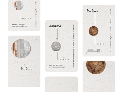 art conservator, a personal branding - neutral earthy minimal identity conservation art texture wood natural branding japanese style print business card