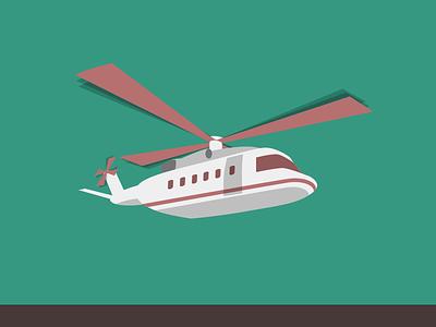 Hngat helicopter vector sketchapp