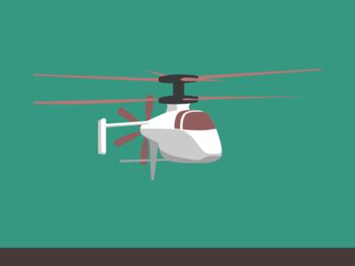 Lil Hngat vector sketchapp helicopter