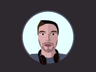 Niklas Jordan face vector sketchapp