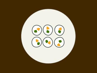 Sushi illustration sushi vector sketchapp