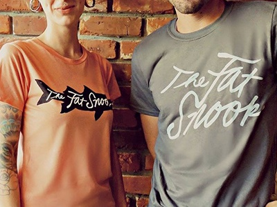 The Fat Snook shirts id logo rebrand wearables restaurant upscale beach fresh snook