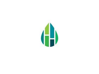 Home Hydro Gardens h fresh drop logo id hydroponic