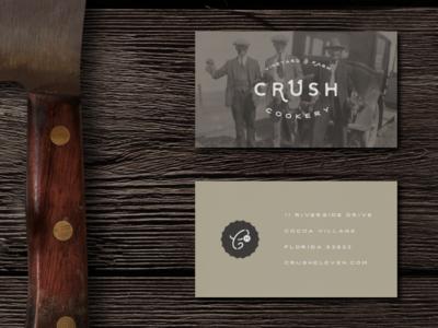 Crush 11 Cookery