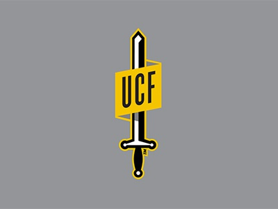 sticker fun vector knights sword sticker ucf