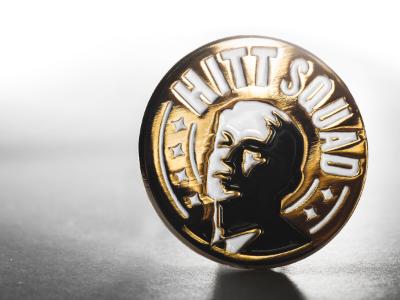 Hitt Squad commemorative pin pin hitt logo ucf