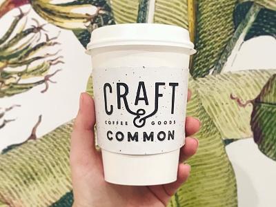 C&C goods goods coffee logo packaging craft  common
