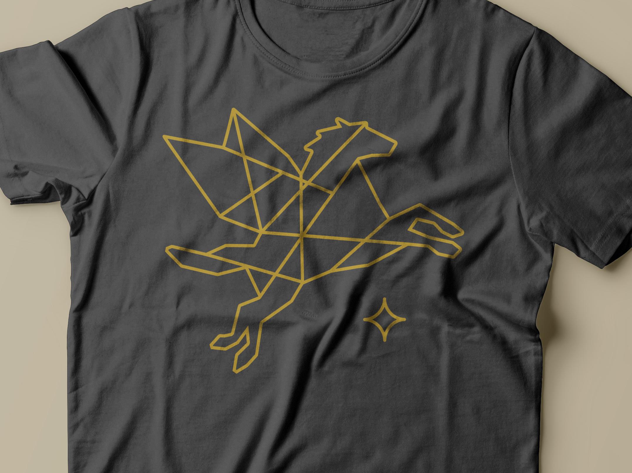 Pegasus path tshirt