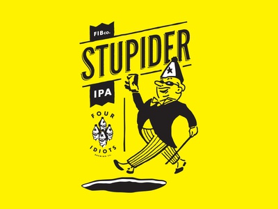 STUPIDER IPA art