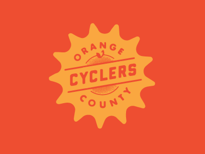 Orange County Cyclers id logo cycling special olympics shirt art