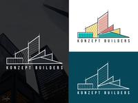 Konzept Builders logo design