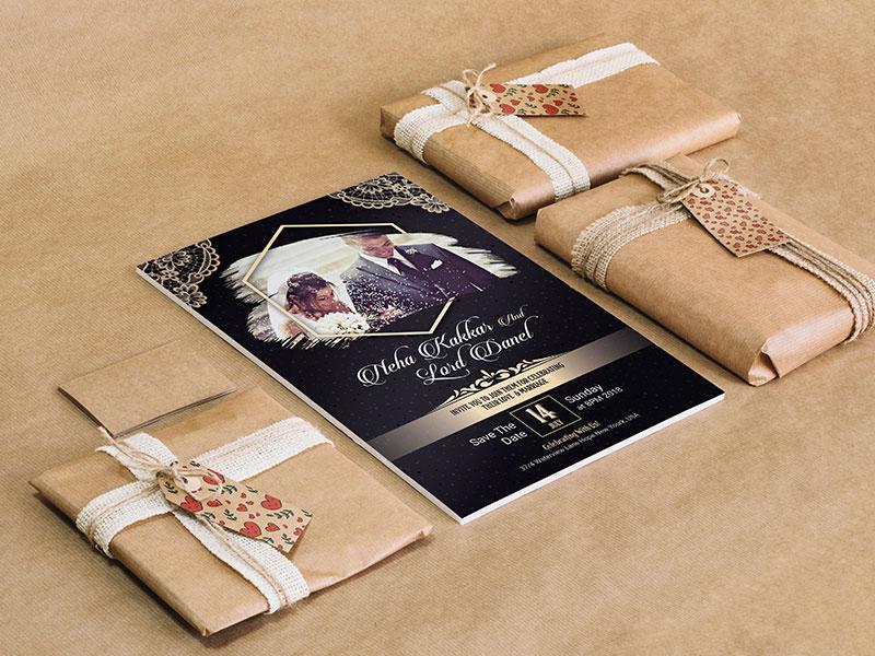 Wedding Invitation Card By Md Ashraf Hossain Dribbble Dribbble