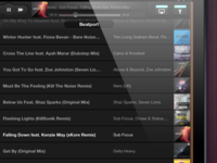 Ambify - Playlist TableView