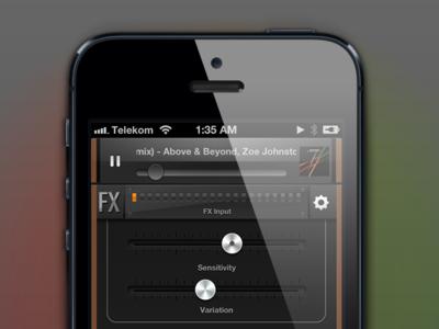 Ambify - iPhone controls