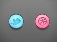 Social Buttons (Freebie)