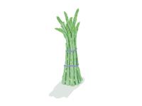 Speared grass