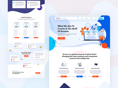 Creative Home Page   Exploration #6 dashboard payment credit card it technology isometric gradient beauty exploration wallet purple sass minimalist