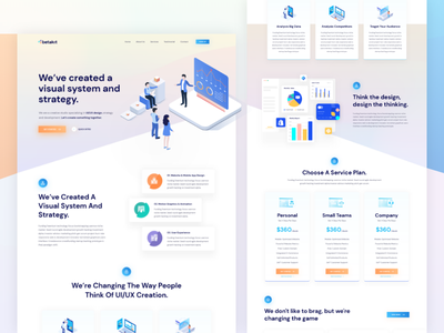 Creative Home Page   Exploration #7 wallet sass purple payment minimalist it technology isometric gradient exploration dashboard credit card beauty
