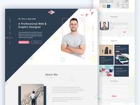 Ami - Creative Personal Web Template
