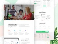 CreativeLab - Agency Landing Page V1
