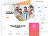CreativeLab - Agency Landing Page V3