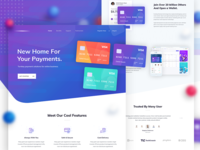 Credit card - Landing Page Design