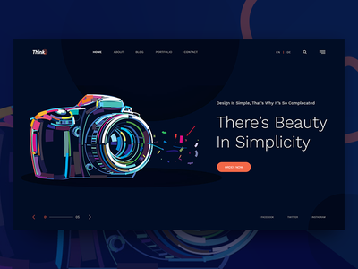 Header Style V3 website gradient typography 404 template simple profile portfolio minimal subscribe bootstrap colors