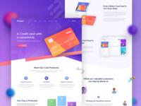 Credit card - Landing Page Design v2
