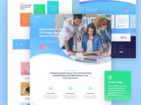 CreativeLab - Agency Landing Page V4