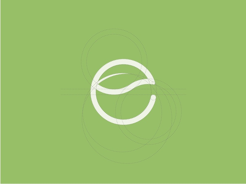 E + Leaf type climate sustainability environmental green flat logoprocess logotype logo design e monogram monogram e leaf branding