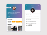 User Profile Social App