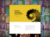 Reykjavík International Literary Festival - Website