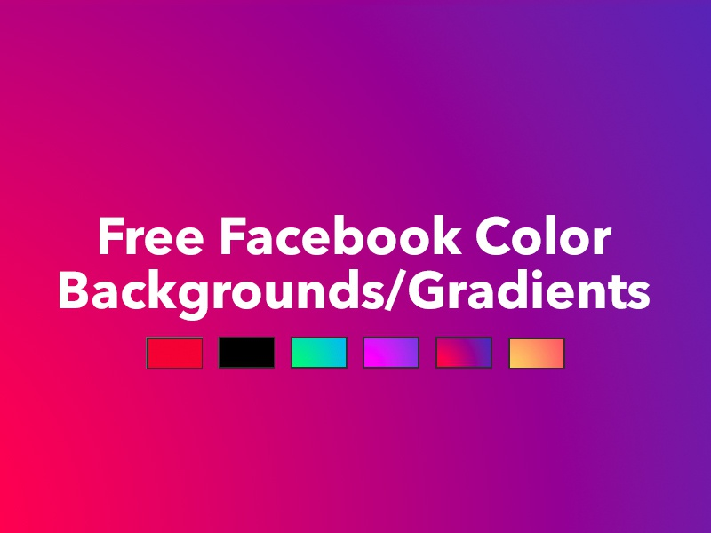 free facebook colored gradient backgrounds psd by scott hutcheson