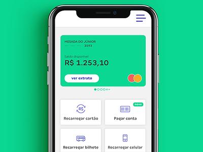 Bank App bank app bank product design vector brading design dashboard ux ui interface app