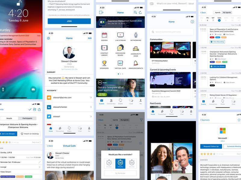 Event App - Socio Branded Event App - Some New Feautures! :) events virtual event app event branded socio